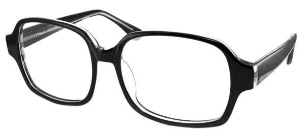 Sidobild på Fönster of Sweden 2321 stora Svarta retro glasögon