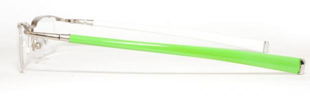 Glasögonbåge med vändbar skalm Ouieike K2005 Sidbild